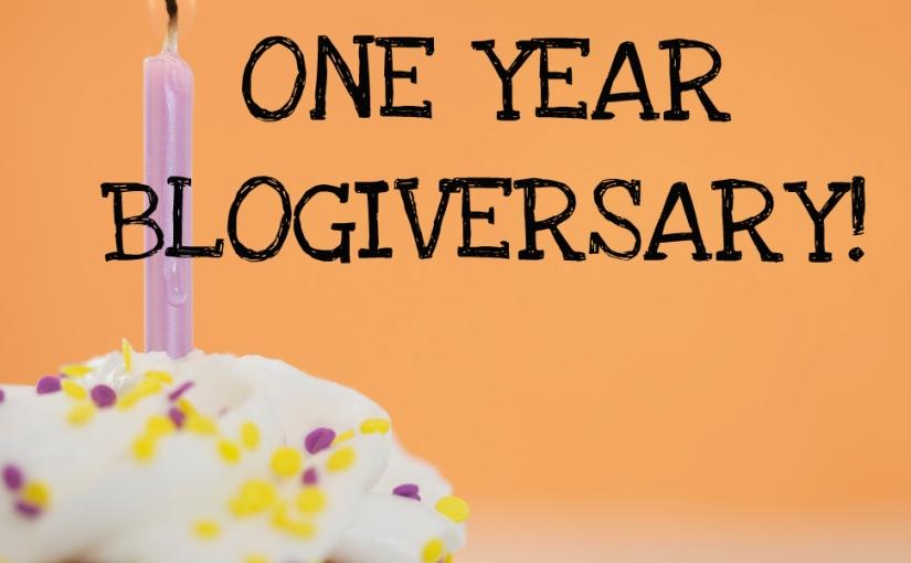 Happy One YearBlogiversary!