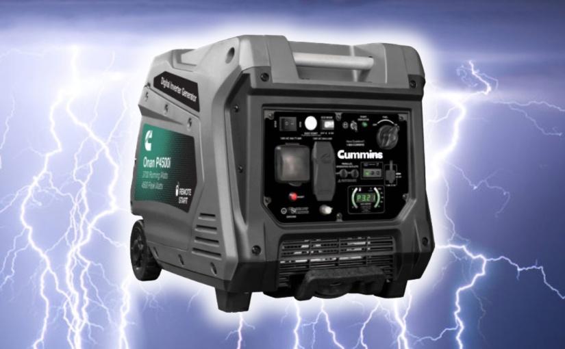 Best Small Quiet Generator – Cummins OnanP4500i