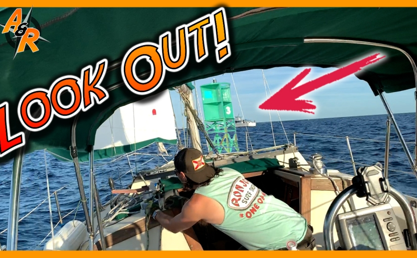 We Almost Crashed Into An OffshoreBuoy!